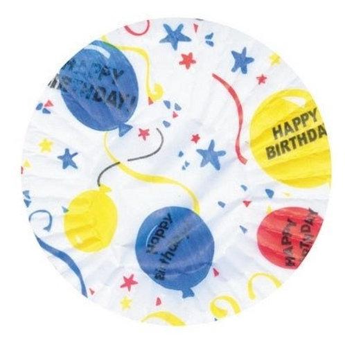 HAPPY BIRTHDAY STANDARD CUPCAKE LINERS