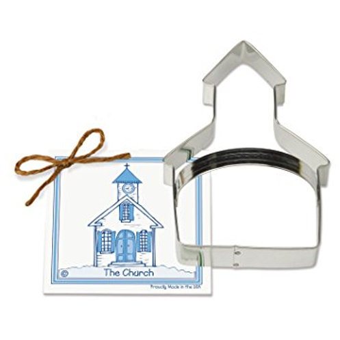 CHURCH COOKIE AND FONDANT CUTTER