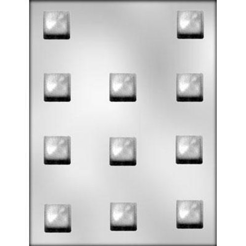 "SQUARE 1"" CHOCOLATE MOLD"