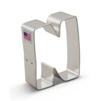 LETTER N  COOKIE CUTTER