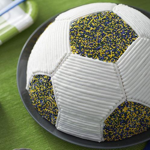 WILTON SOCCER BALL CAKE PAN
