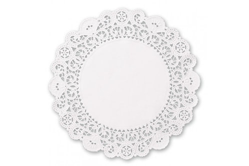 """12"""" ROUND LACE DOILIES"""