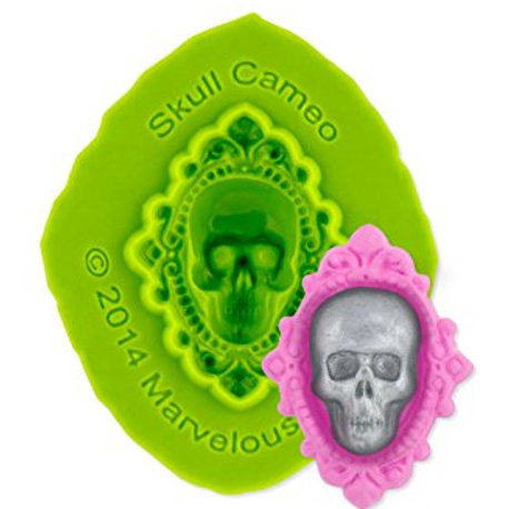Marvelous Molds Skull Cameo Mold