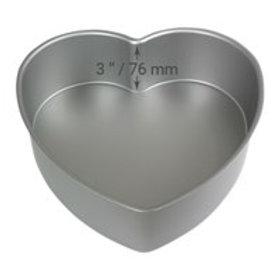 "PME 8""x 3"" Heart pan"