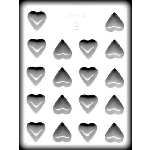 "HEART 1¼"" HARD CANDY MOLD"