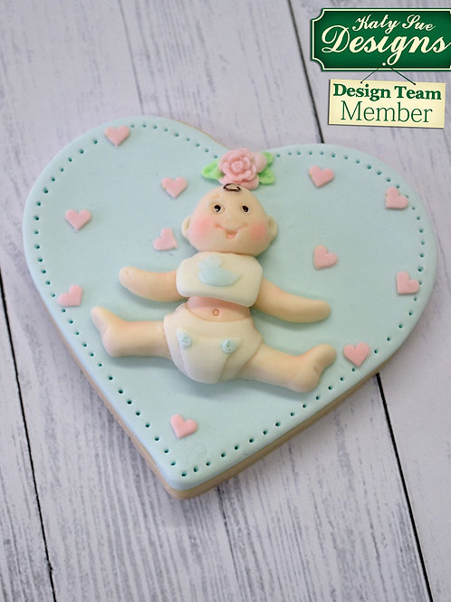 Baby Sugar Buttons Silicone Mould