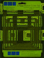 6 Pc Square Cutter Set