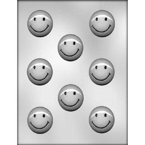 "SMILEY FACE 1¾"" CHOCOLATE MOLD"