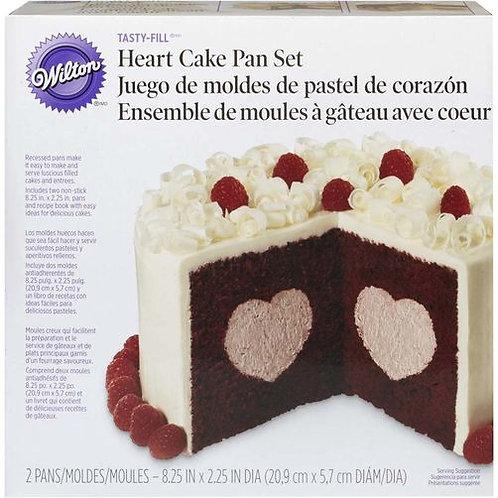 WILTON HEART TASTY-FILL PAN