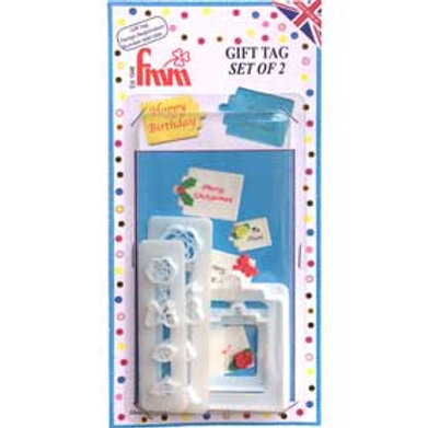 FMM Gift Tag Cutter Set/4