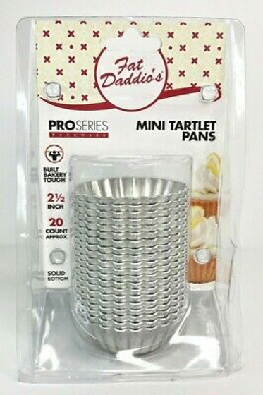 Mini Tartlet Pan 2-1/2 x 3/4 Inches, 20 Count