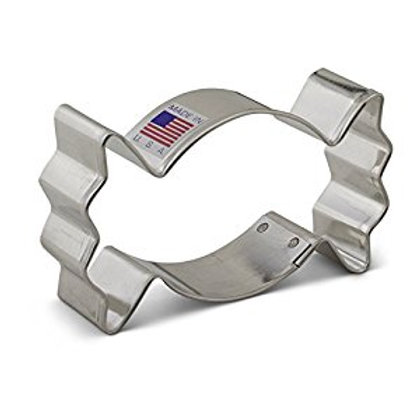 WRAPPED CANDY COOKIE CUTTER