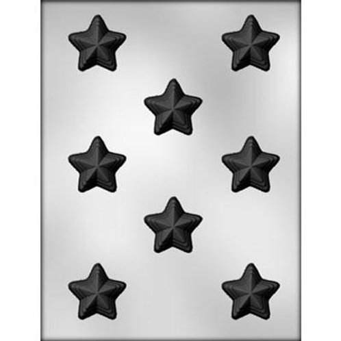 """STACKED STAR 1⅜"""" CHOCOLATE MOLD"""