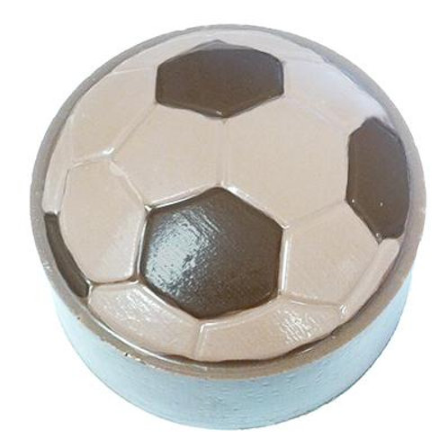 SOCCER BALL ROUND SANDWICH COOKIE CHOCOLATE MOLD