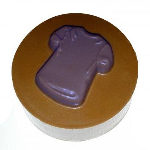 BABY SHIRT ROUND SANDWICH COOKIE CHOCOLATE MOLD