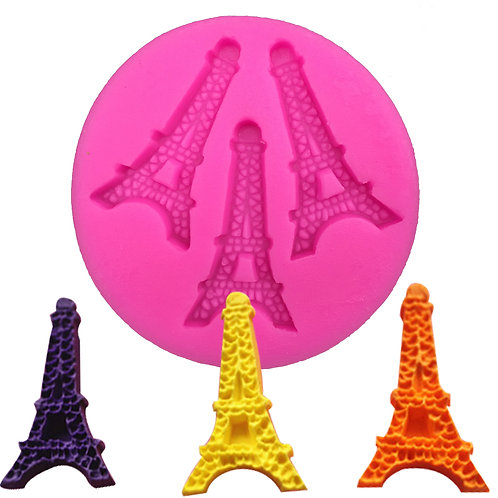 EIFFEL TOWER Embossed Silicone Mold