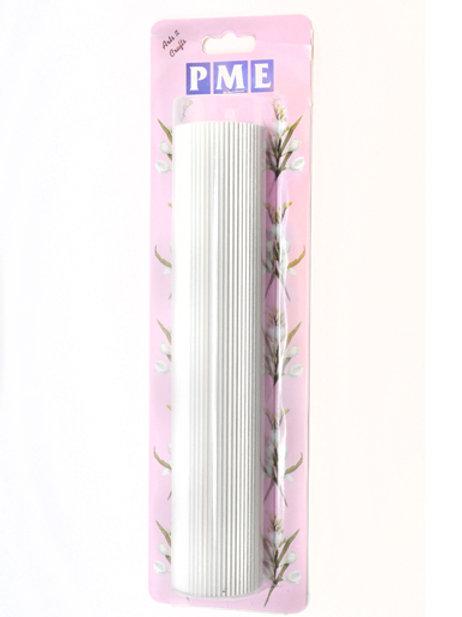 PME Aluminum Ribbed/Smocking Rolling Pin 9-1/2
