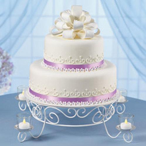 WILTON VOTIVE CANDLELIGHT CAKE STAND