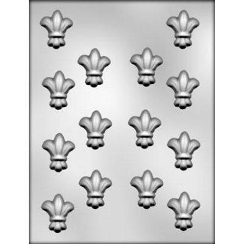 """FLEUR DE LIS 1½"""" CHOCOLATE MOLD Product #90-5006"""