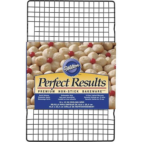 WILTON PERFECT RESULTS 16 X 10 NON-STICK COOLING RACK