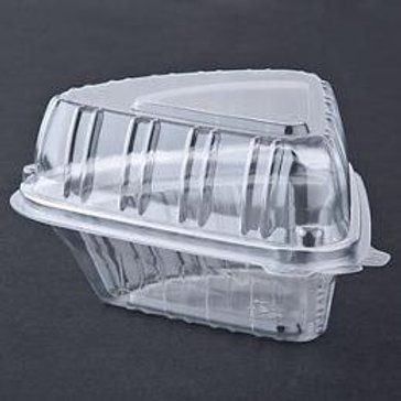 PIE EDGE PLASTIC CONTAINER