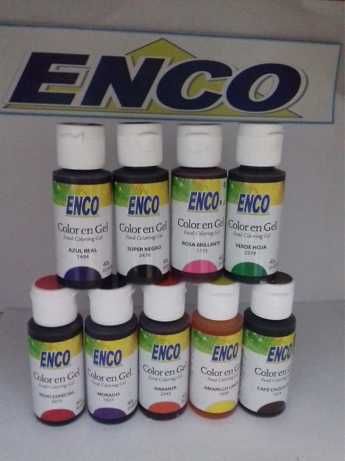 Enco Super Red Gel Color