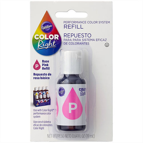 WILTON COLOR RIGHT PINK BASE COLOR REFILL