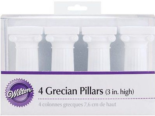 WILTON 4 IN. GRECIAN PILLARS