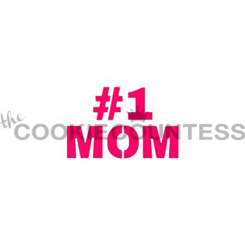 THE COOKIECOUNTESS - MOTHERS DAY STENCIL