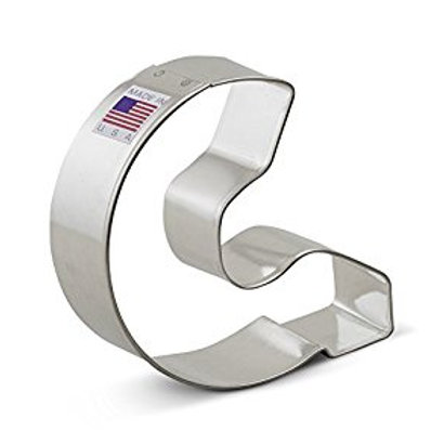 LETTER I COOKIE CUTTER
