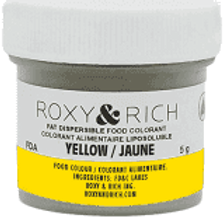Roxy & Rich Yellow Fat Dispersible food coloring