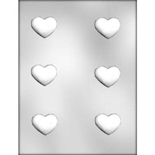 "TRUFFLE HEART 1-3/4"" CHOCOLATE MOLD"