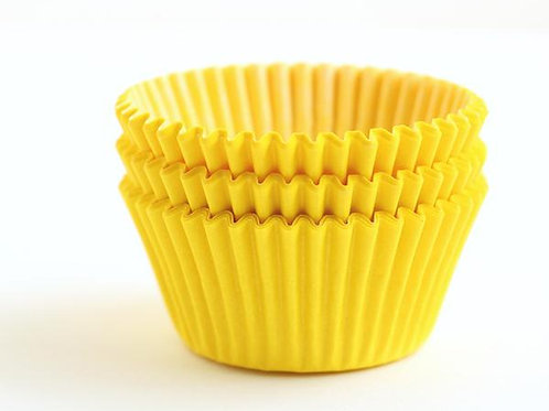 YELLOW STANDARD CUPCAKE LINERS