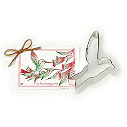 HUMMINGBIRD COOKIE AND FONDANT CUTTER