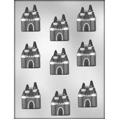 "CASTLE 2"" CHOCOLATE MOLD"
