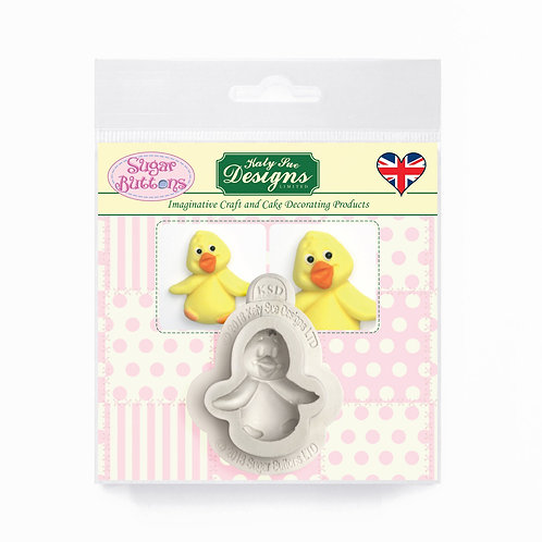 Baby Chick Sugar Buttons Mould