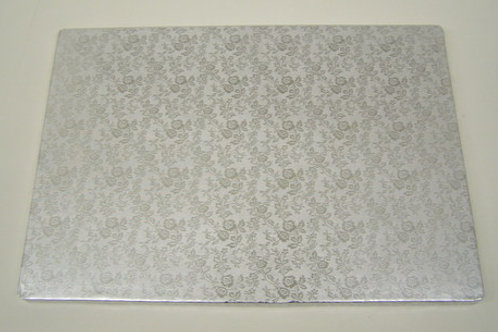 1/2 SHEET SILVER SCALLOPED