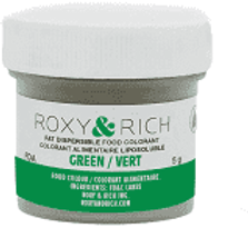 Roxy & Rich Green Fat dispersible food coloring