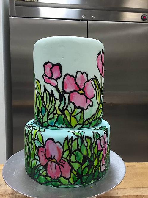 Painting on Cakes/Pintura sobre Fondant