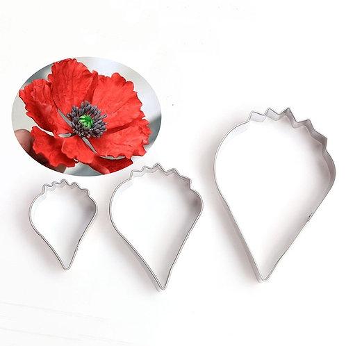 Poppy petals cutter