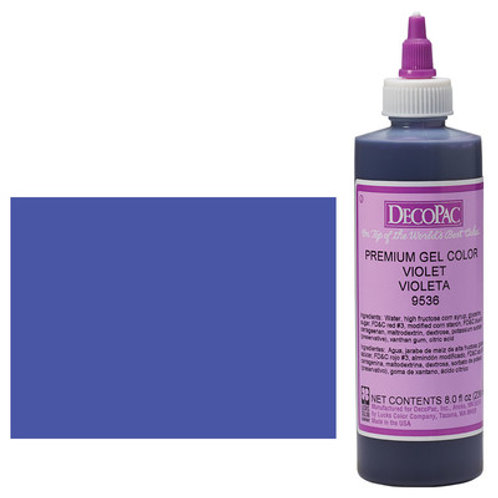 VIOLET DECOPAC PREMIUM GEL COLOR