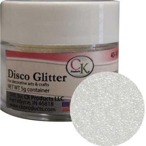 WHITE - DISCO GLITTER