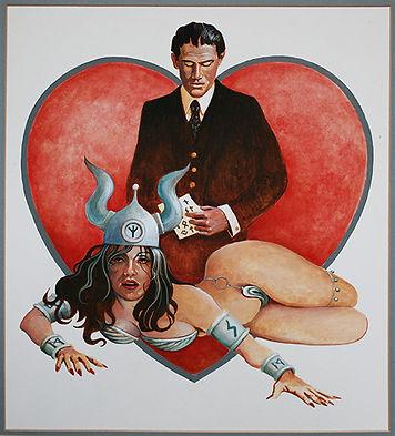 """""""Love Among the Runes"""", Acrylic"""