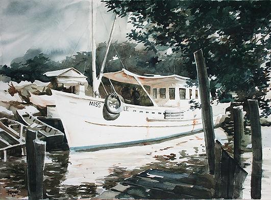 Shrimp Boat, Bayou La Loutre, Louisiana