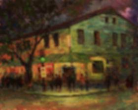 Tipitina's, New Orleans, Acrylic painting by John Turner