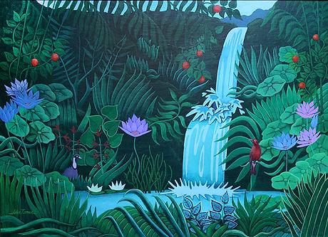 """""""Hawaii"""", Acrylic"""