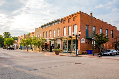 Main Street (S. Washington to S. Jackson