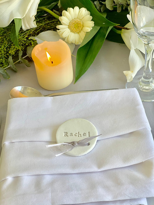 Set of 10 Round place setting