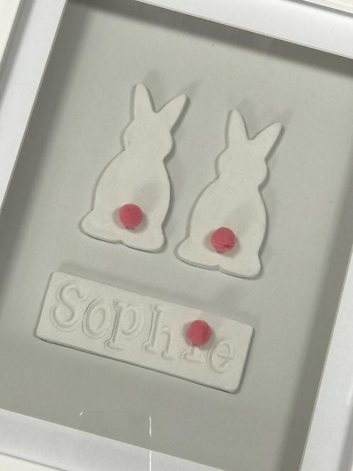 Bunny Nursery Frame