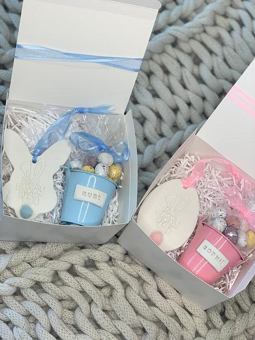 Easter bucket gift box